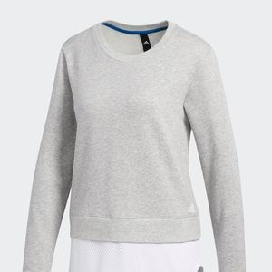 Adidas Size medium grey dual sweatshirt